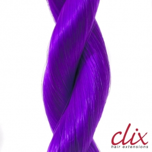 Clix 40cm wł.synt.kol.Purple Passion